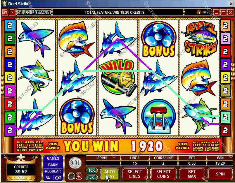 Casino Kingdom,Casino Rewards,Slots,Video Slots,Bonus Slots,15 Payline,5 Reel,Reel Strike,2007,August,Free Spin,Bonus Round,Wild Symbol